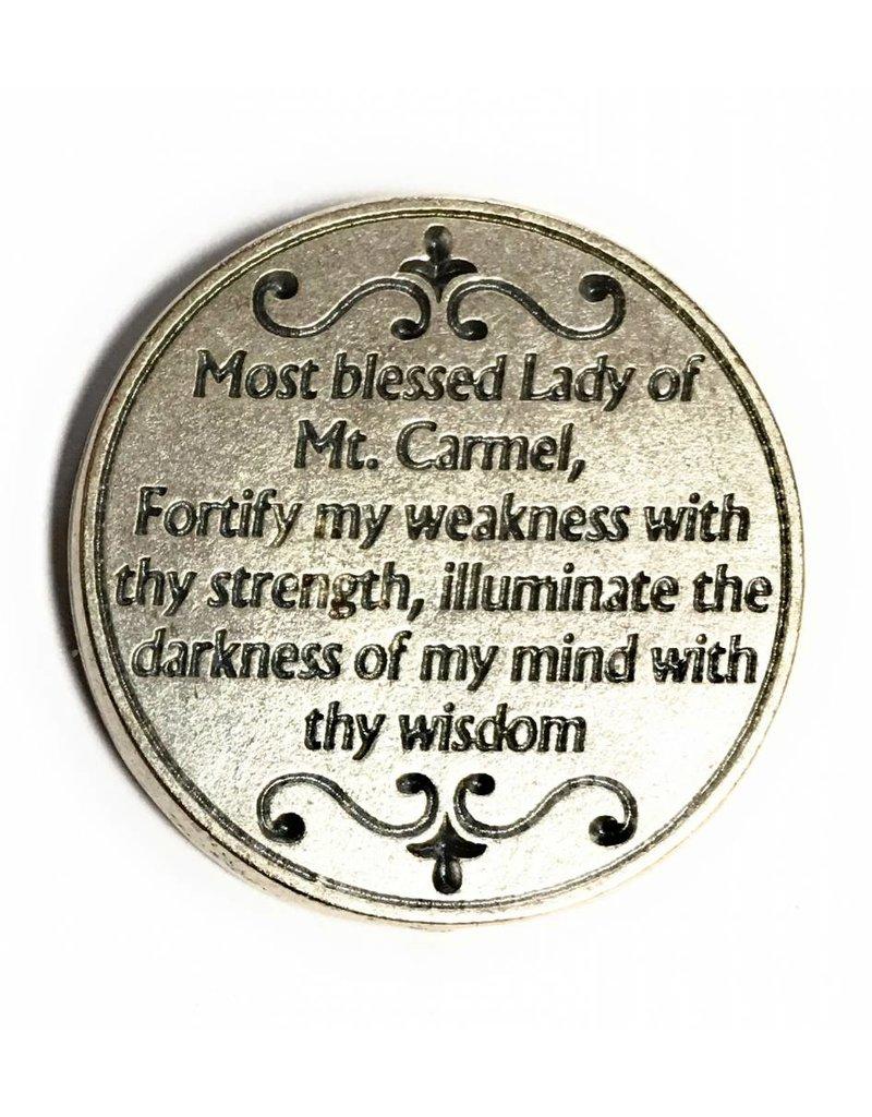 Lumen Mundi Our Lady of Mt. Carmel Pocket Token