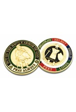 Symbol Arts Armor of God Challenge Coin Token