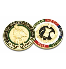 Symbol Arts Armor of God Challenge Coin Token