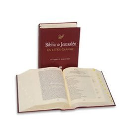 "Desclee de Brouwer Biblia de Jerusalen, Letra Grande 6.5"" x 8.5"""