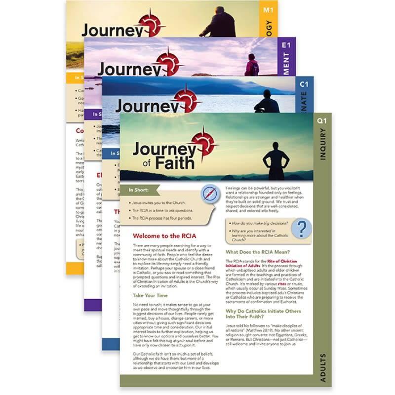 Liguori Publications Journey of Faith Adults Complete Set