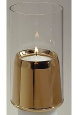 "Empire Bronze Corp Draft Resistant Candle Followers for 1-1/2"" Candles"