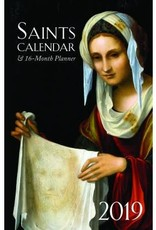 Tan Books 2019 Saints Calendar and 16 Month Daily Planner