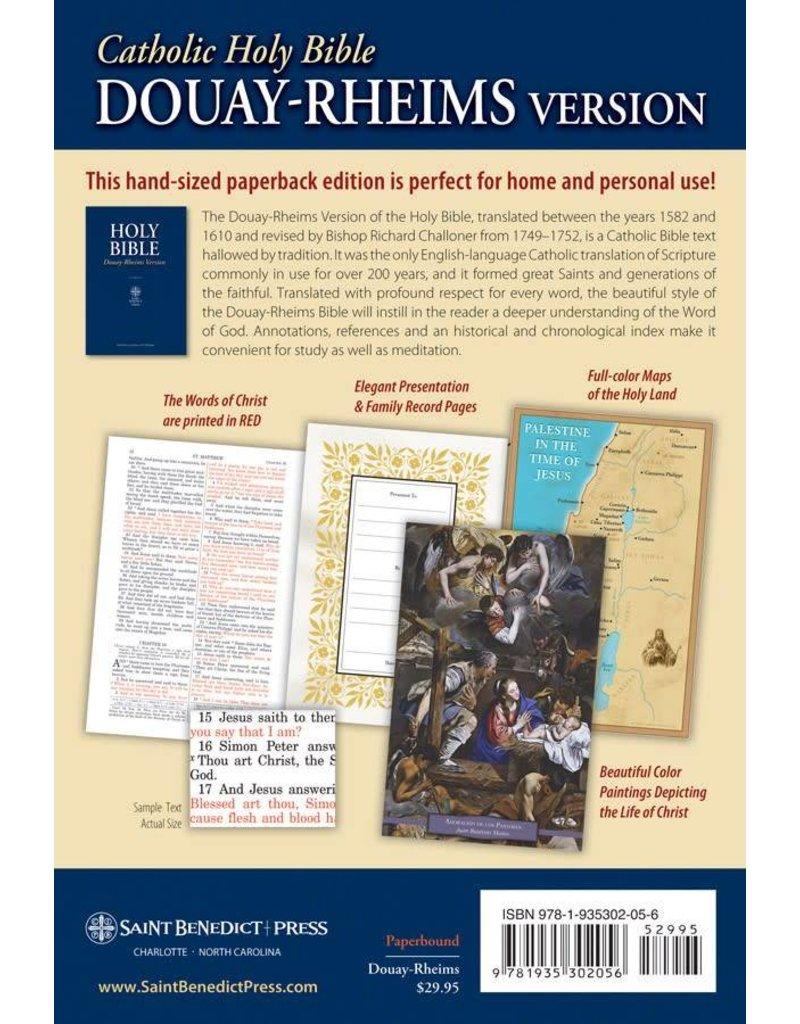 St. Benedict Press Douay-Rheims Bible (Paperback)