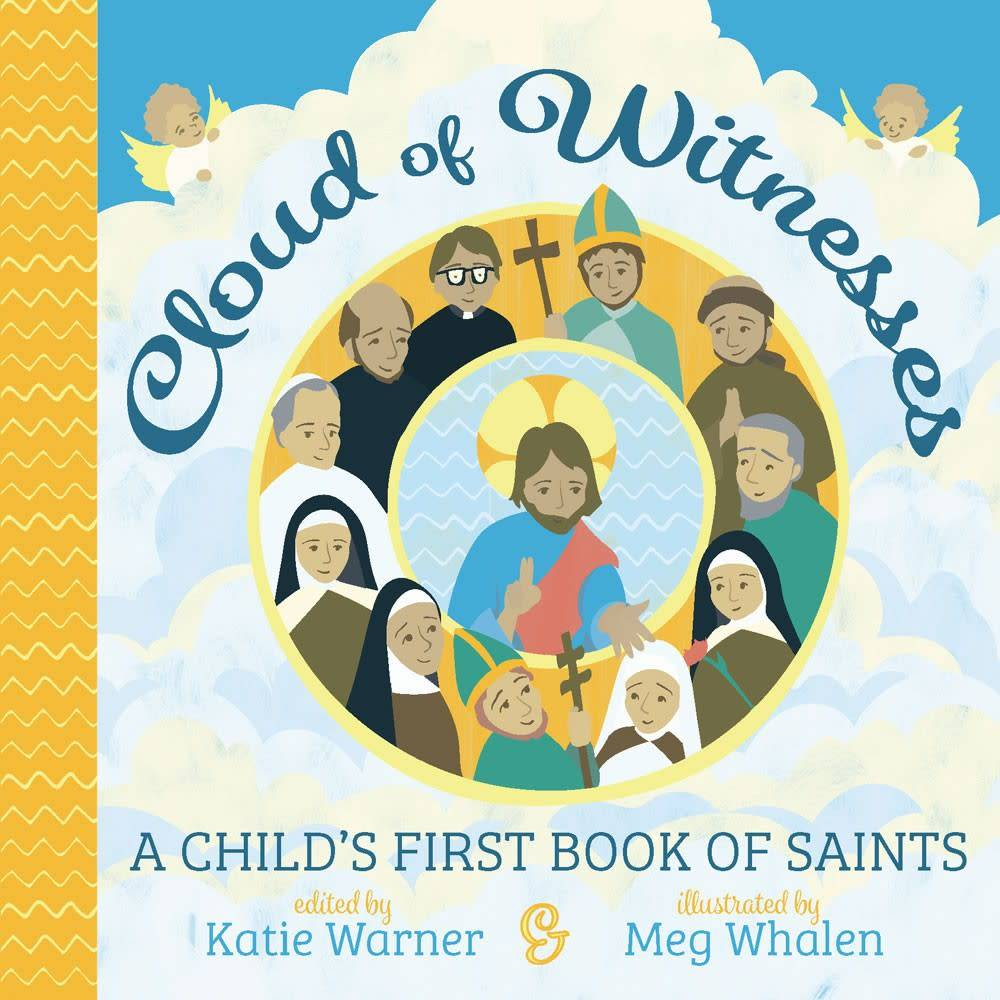 Tan Books Cloud of Witnesses: A Child's First Book of Saints (Board Book)