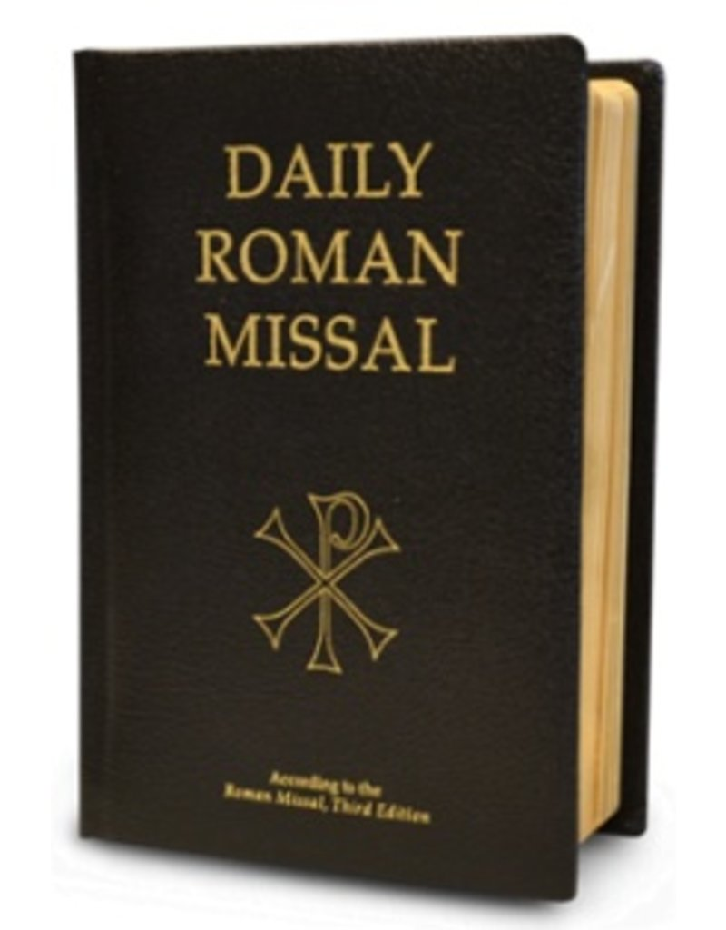Scepter Publishers Daily Roman Missal - Bonded Leather (Black)