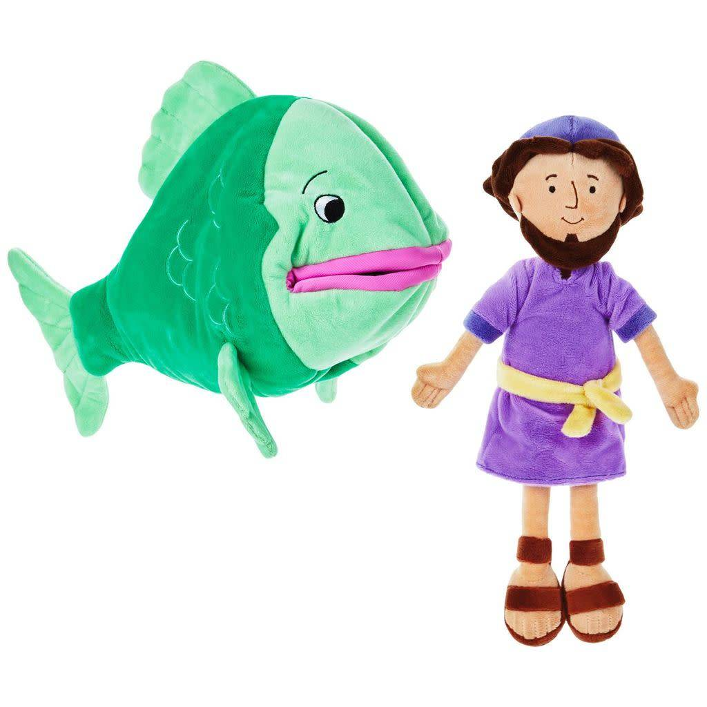 Hallmark Jonah and the Big Fish Stuffed Doll Set