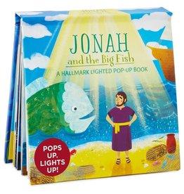 Hallmark Jonah and the Big Fish Lighted Pop-Up Book