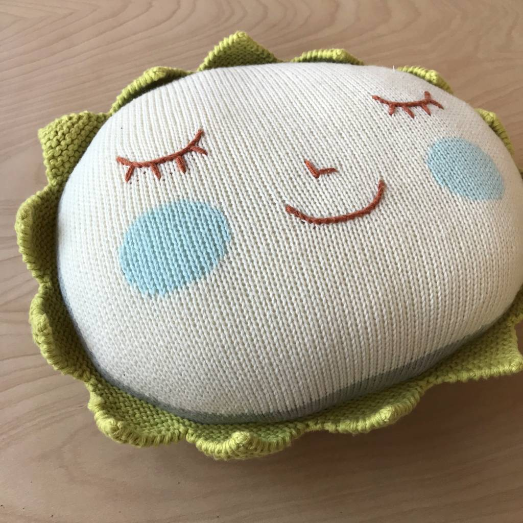 Blabla Kids Stuffed Creature- Sun Pillow