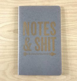 Runaway Press Journal- Moleskin, Notes & Shit, Grey