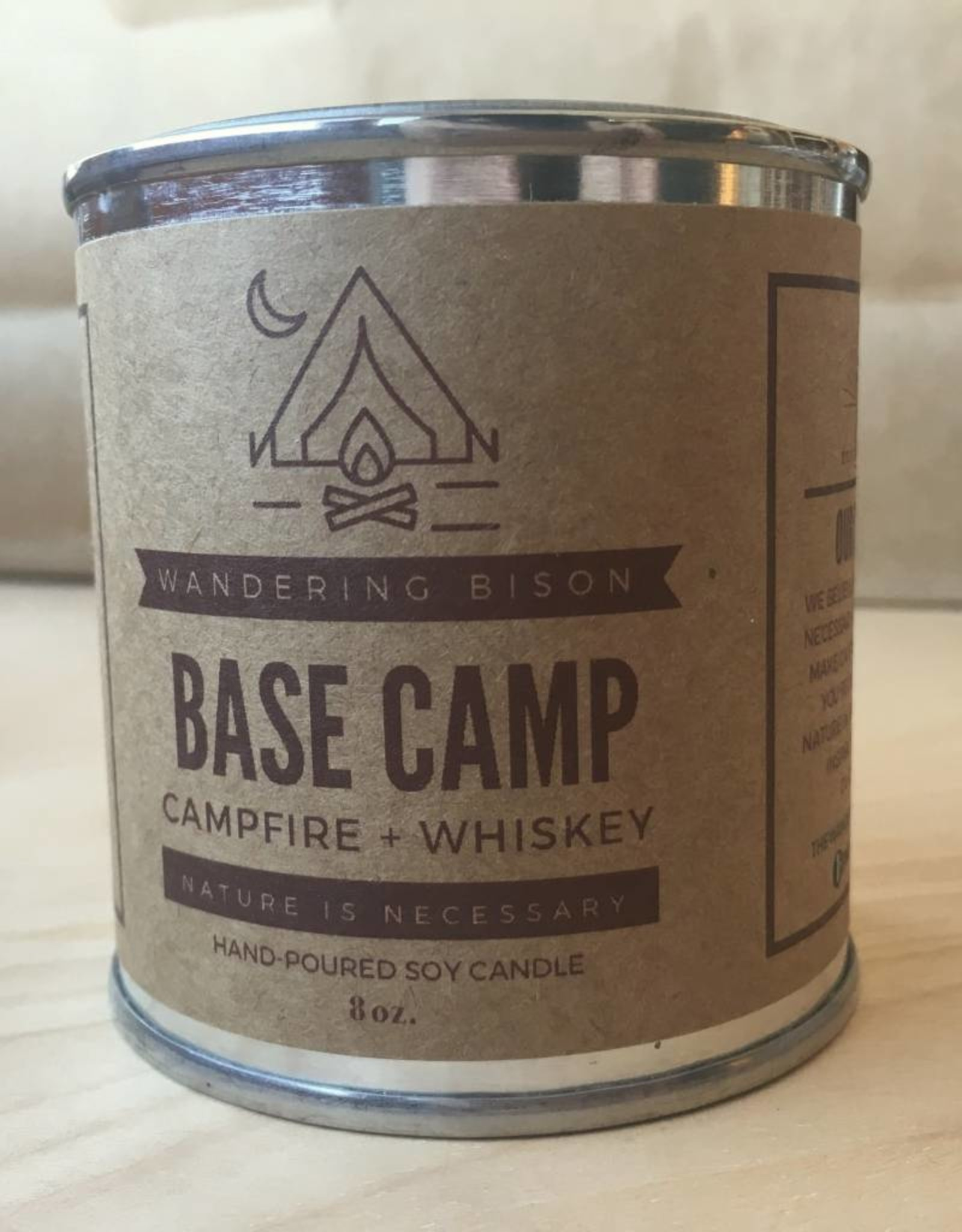 Wandering Bison Wax Co. Candle