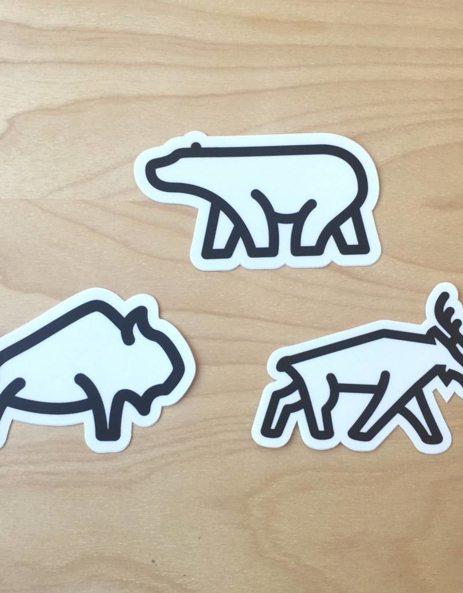 Fell Animal Sticker