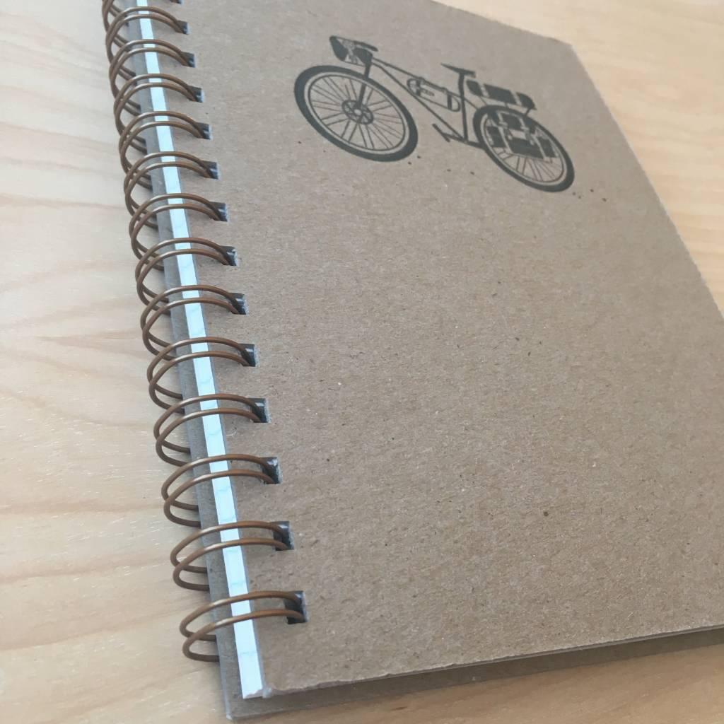 RUFF HOUSE ART Journal- Bicycle