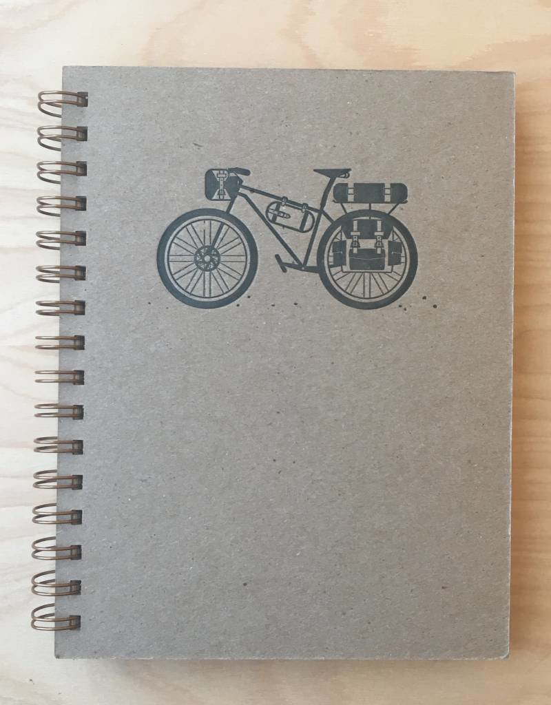 RUFF HOUSE ART Journal- Bicycle