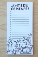 Notepad- Meow or Never