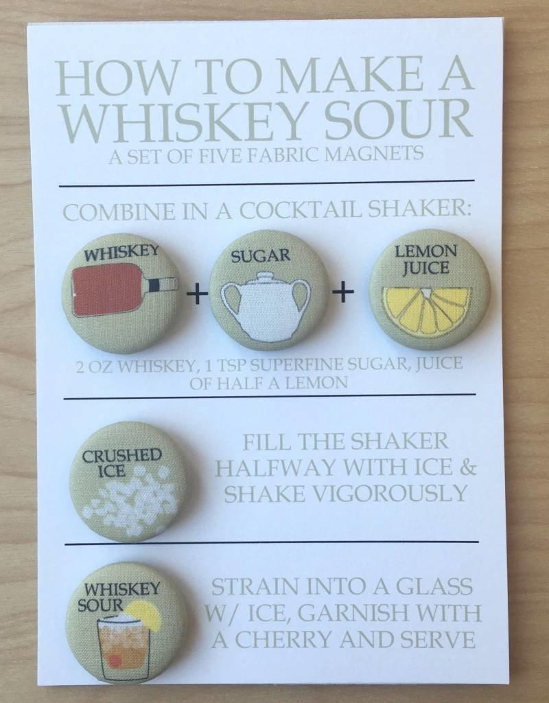Magnet Set - Whiskey Sour