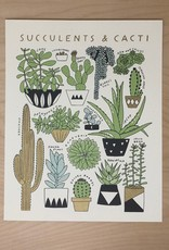 Worthwile Paper Print- Succulents & Cacti