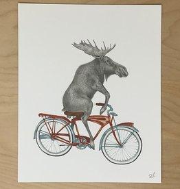 Lecanotrouge Print- Murray Maynooth Moose