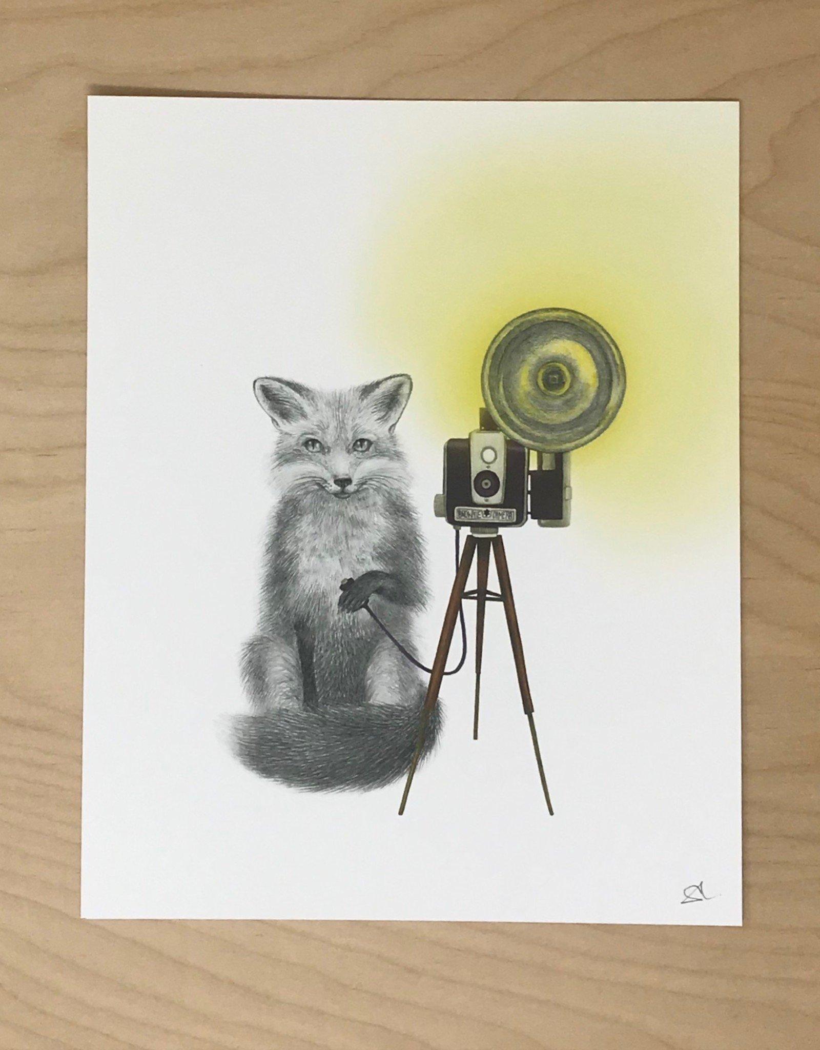 Lecanotrouge Print- Quinn Bancroft Fox