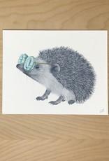 Lecanotrouge Print- Whitby Valentine Hedgehog