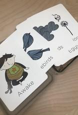 Red Umbrella Designs Kids Cards- Alphabet