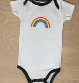 Little Lark Onesie- Glitter Rainbow