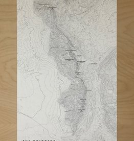 North Fork Mapping Map- Bridgers