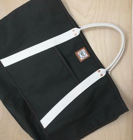 Shotgun Paul Canvas Tote Bag- Large, Green