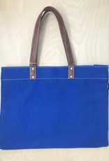 Carry All Tote Waxed Navy