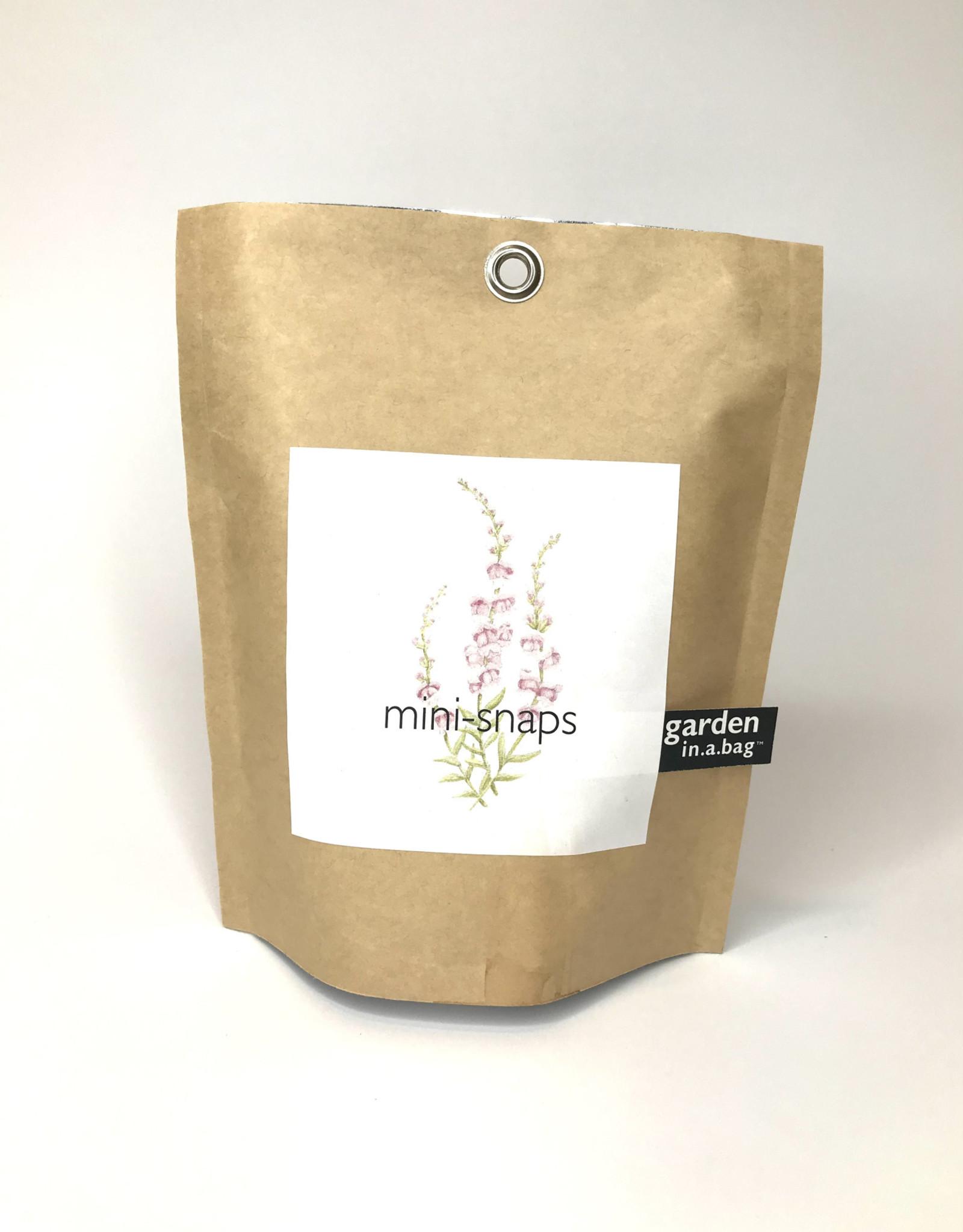Garden In A Bag Garden Bag- Mini Snaps
