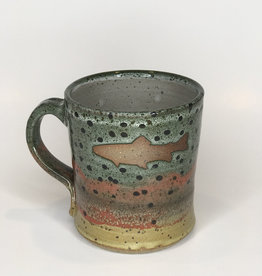 Red Bison Studios Mug- Rainbow Trout