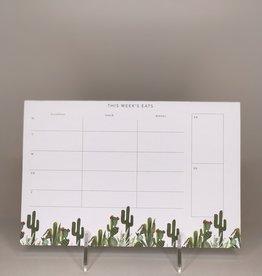 Pen+Pillar Notepad- Cactus