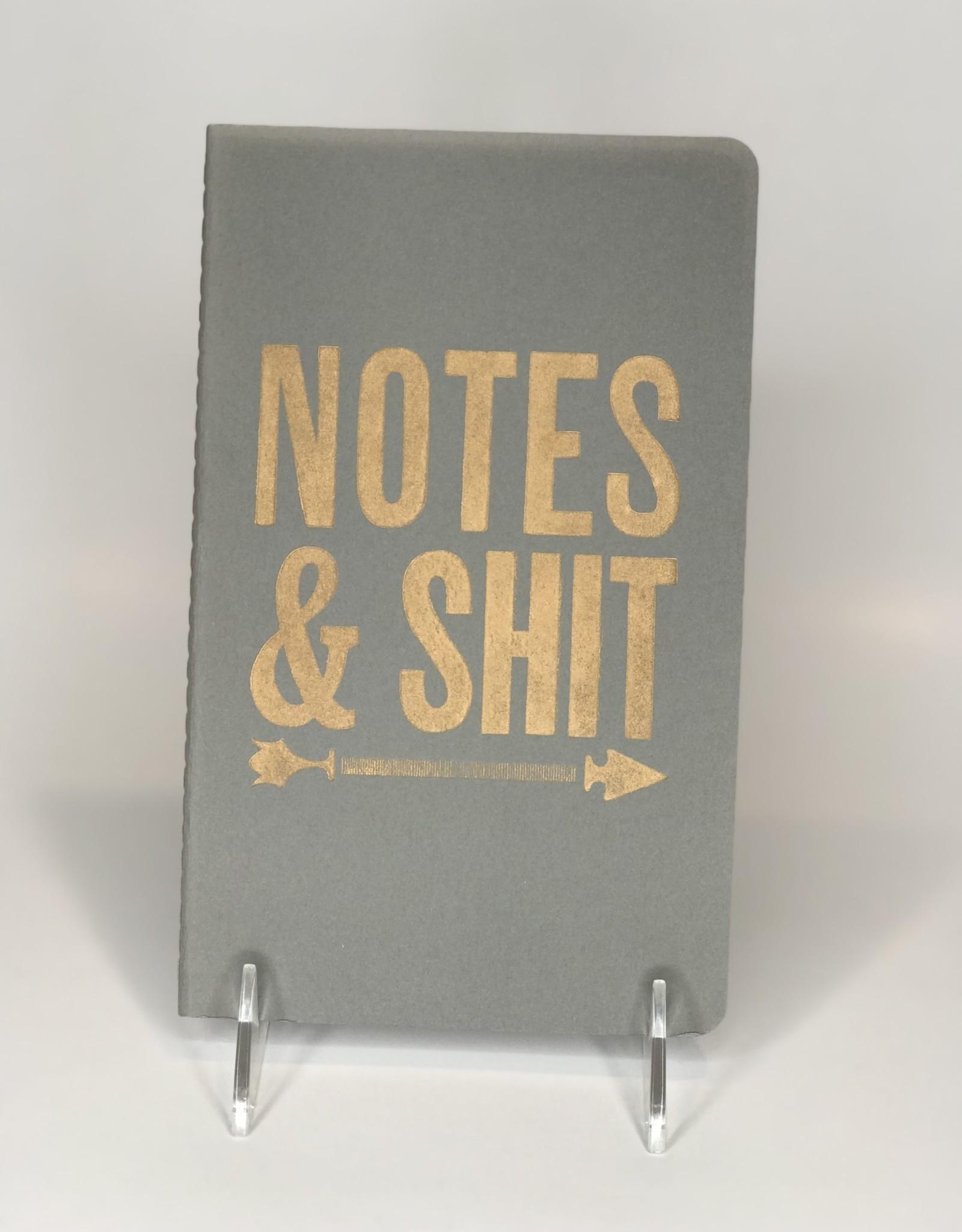 Runaway Press Journal- Moleskin, Notes & Shit, Grey