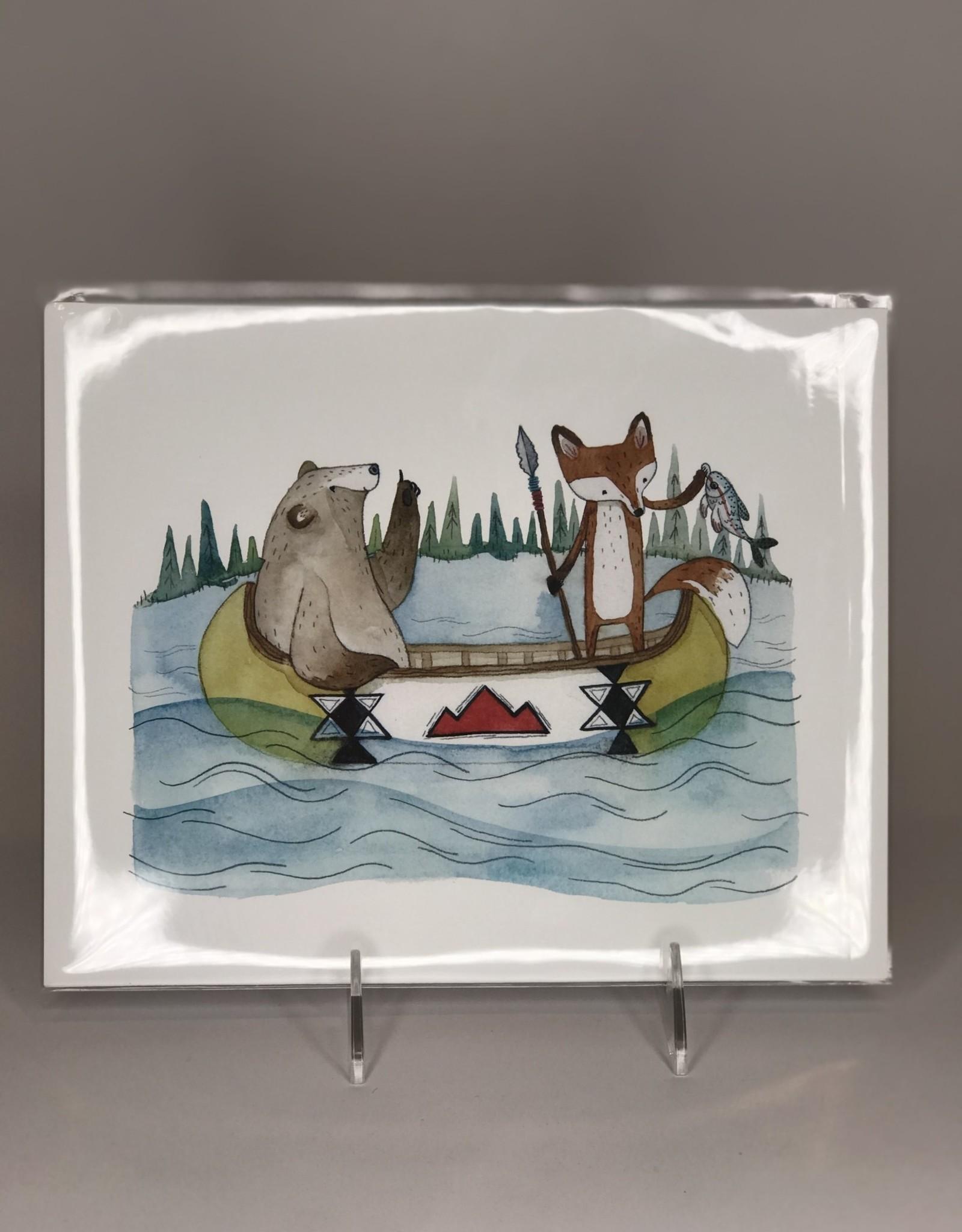 Print- Fishing Friends