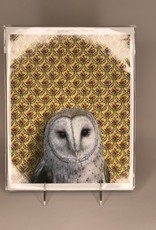 Print- Screech Owl