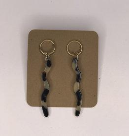Earrings- Tortoise Dangle