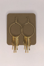 Amano Studios Earrings - Gold Fringe Dangle
