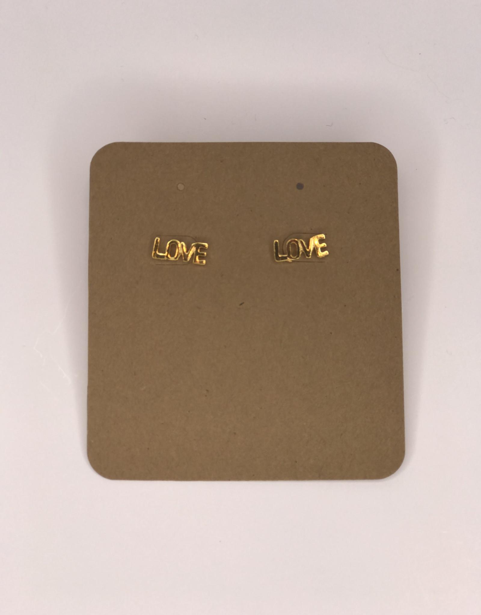 Amano Studios Earrings - Love Studs