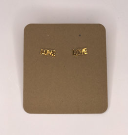 Amano Studios Earrings - Love Studs