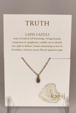 Ker-ij Jewelry Nacklace- Truth Stone Lapis Lazuli