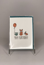Ladybug Press Card- Yay Animals