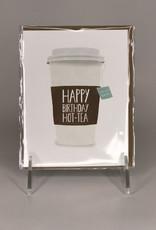 Paper Wolf Card- Hot Tea