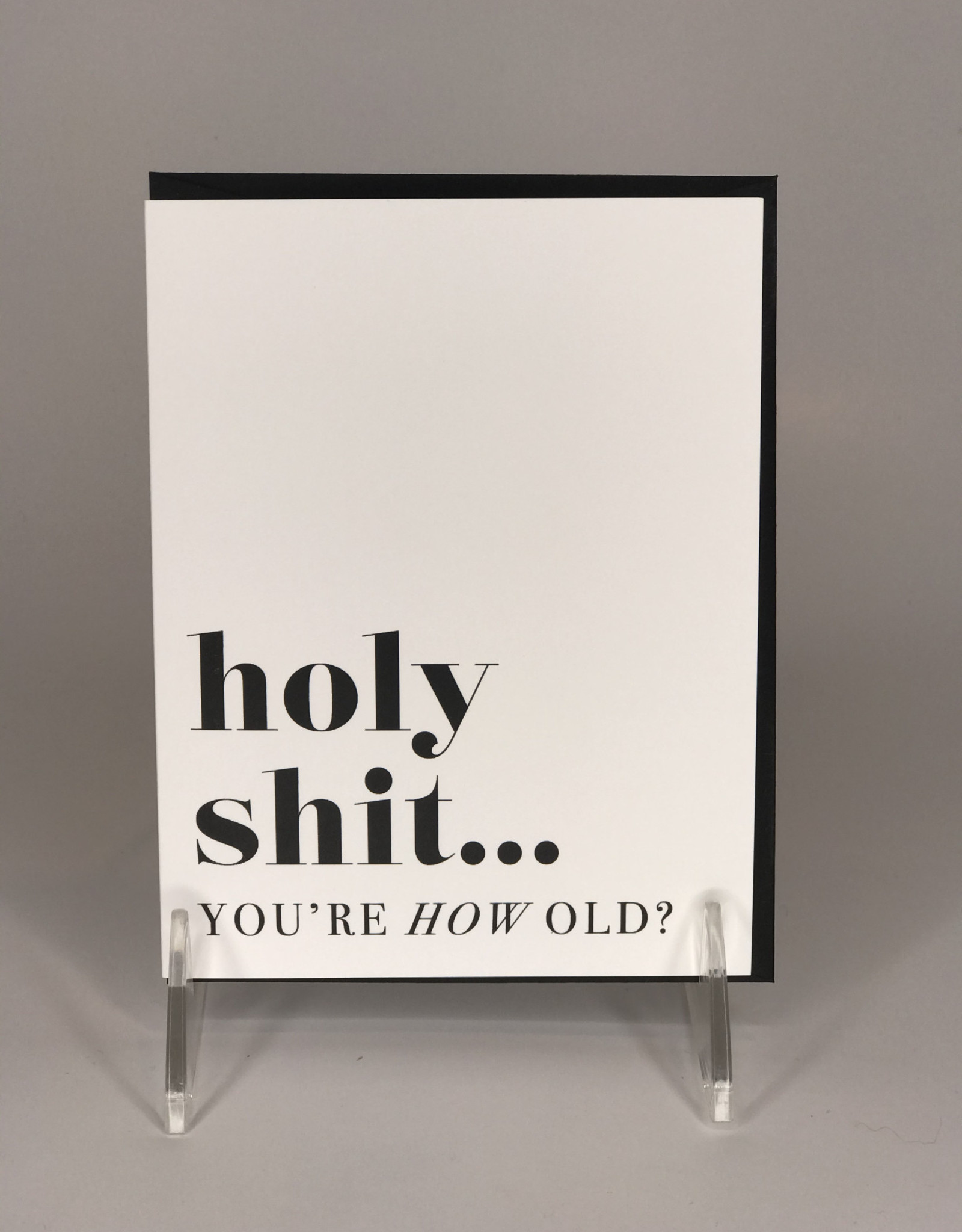 Kitty Meow Boutique Card- You're how old