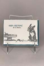 Ladybug Press Card- Happy Birthday It Was Delicious