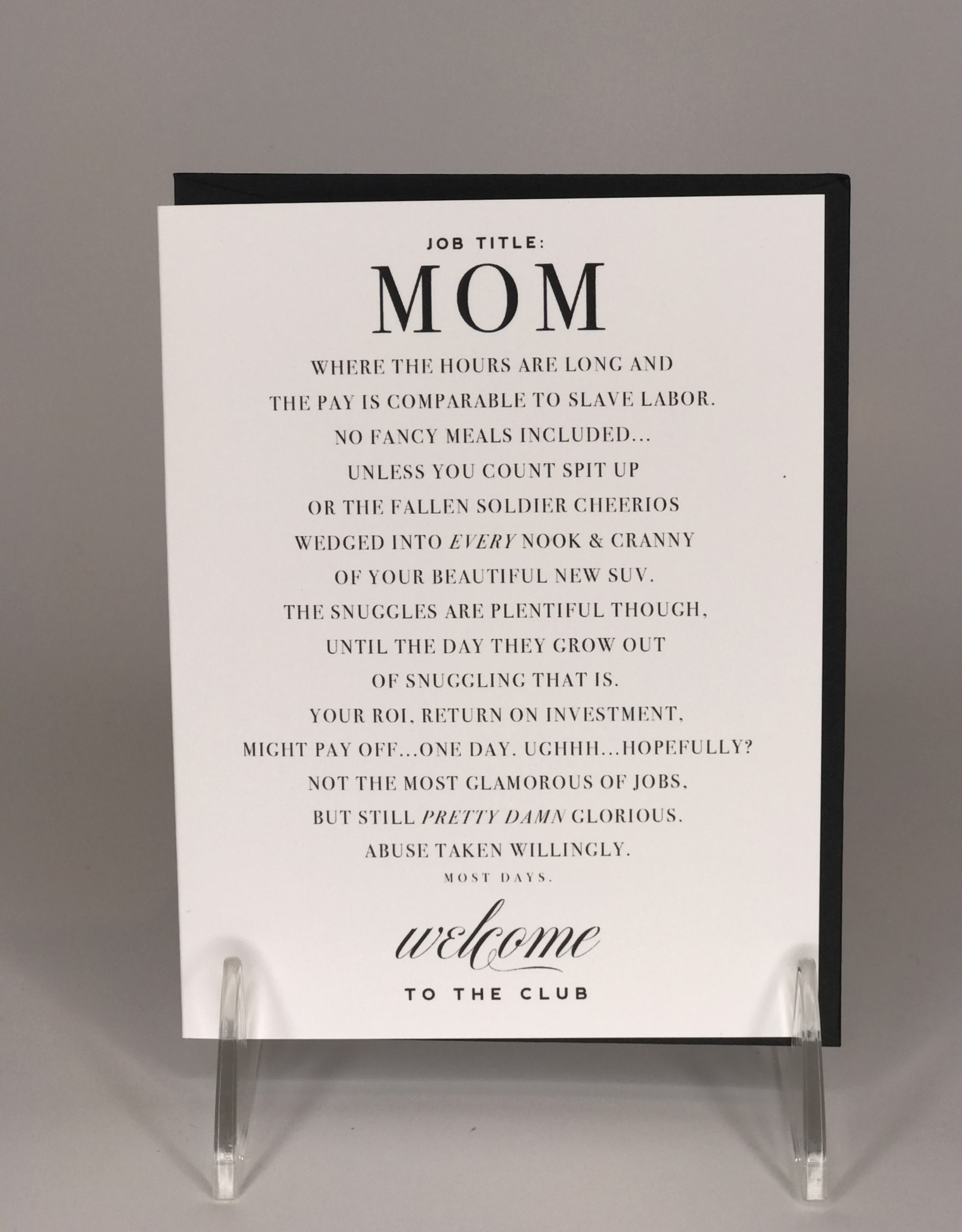 Kitty Meow Boutique Card- Mom Club