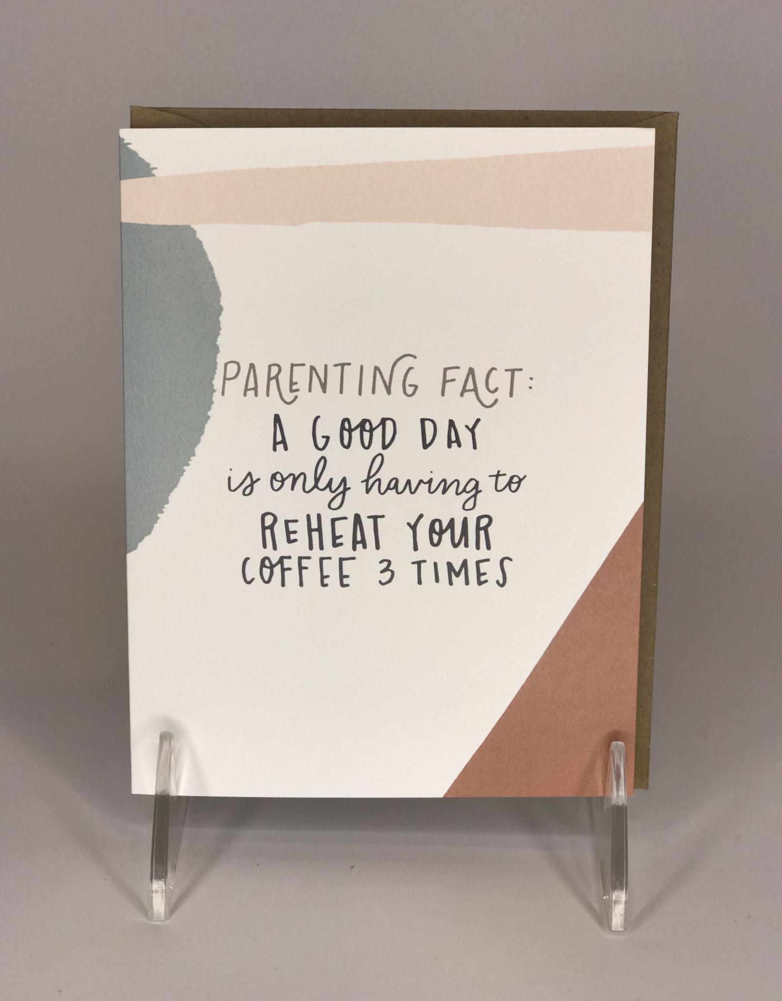 Black Lab Studio Card- Parenting Facts Reheat