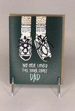 Black Lab Studio Card- Dad Shoes