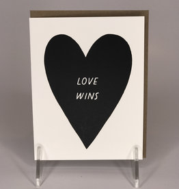 Worthwile Paper Card- Love Wins