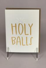 Black Lab Studio Card- Holy Balls