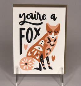 Worthwile Paper Card- You're A Fox